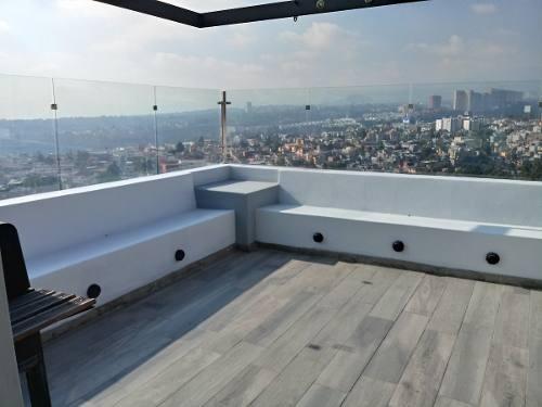 espléndida casa moderna  en lomas de santa fe