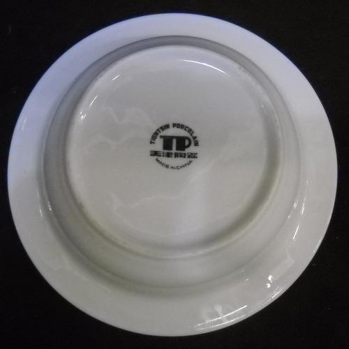 esplendido cenicero porcelana sellada tp made in china (65p)