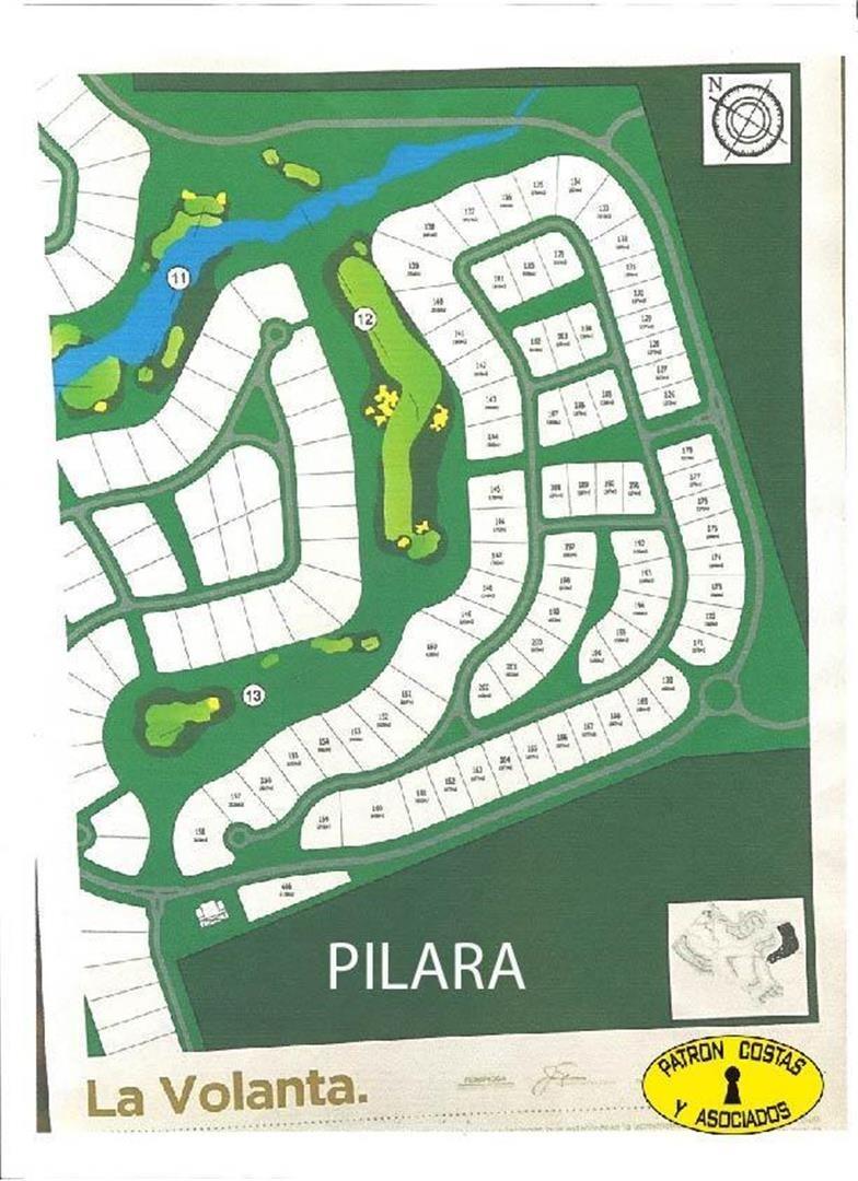 esplendido lote de 1550 m2 en pilara-pilar-polo,