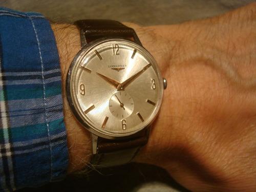 esplendido reloj longines 1960 cal.23z impecable! unico joya