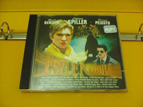 esplendor - trilha sonora filme - cd