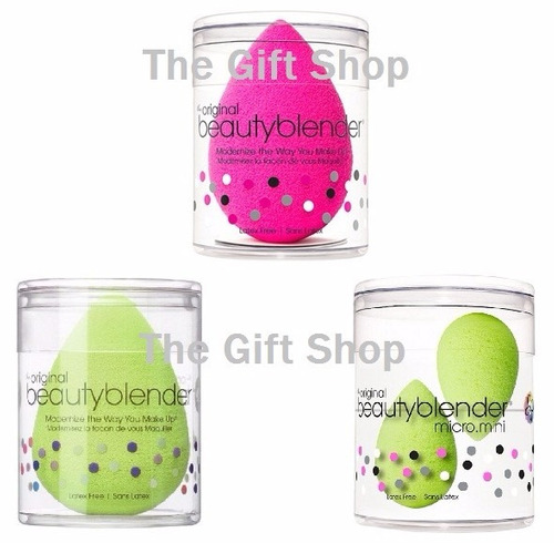 esponja beauty blender maquillaje suave crece sin/latex usa!