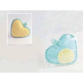 Esponja De Baño Corazón