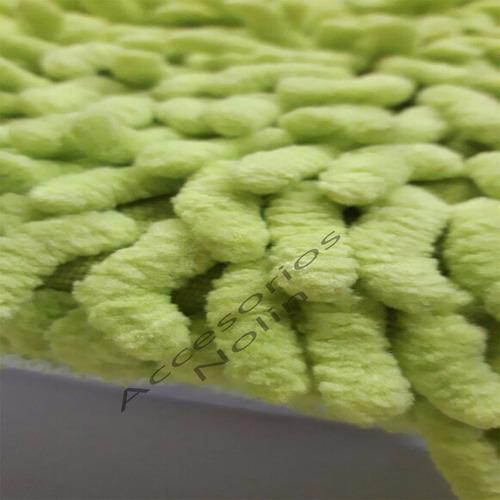 esponja de microfibra para lavar - 1 cara - lavable nolin