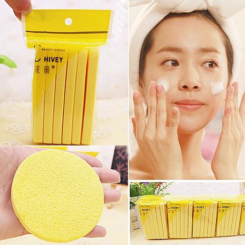èsponja facial de celulosa 2 paq. x 12 unidade - disponibles