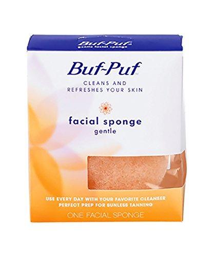esponja facial multiusos reutilizable buf-puf, suave (paquet