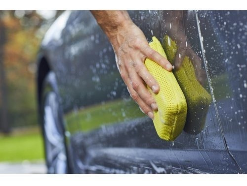 esponja limpiadora para automoviles viking car care, con