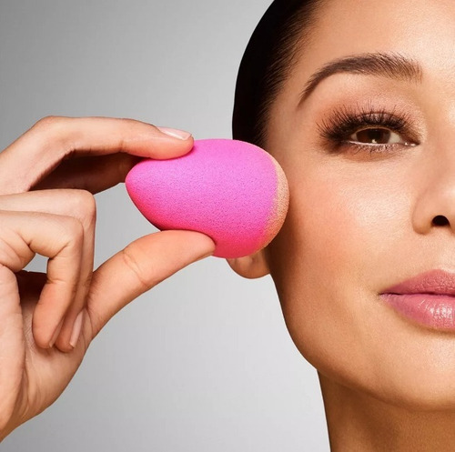 esponja maquiagem tipo blender gota p/ base corretivo 1 unid