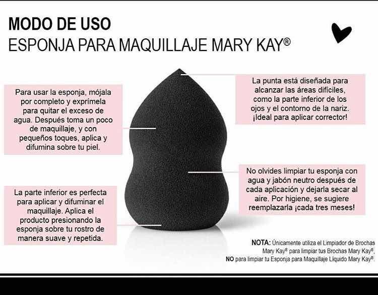 68a3be812 Esponja Maquillaje Mary Kay - $ 150.00 en Mercado Libre