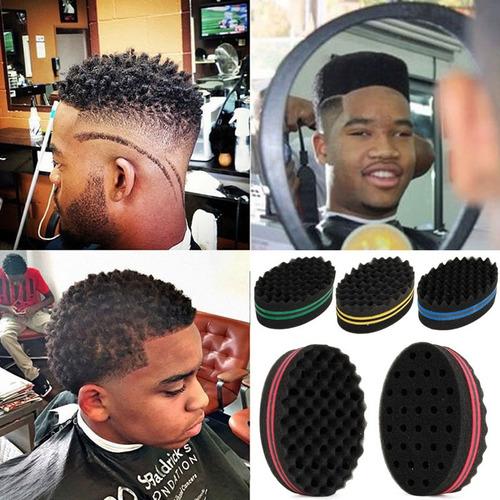 esponja rizos barberia afro y ras - unidad a $18000