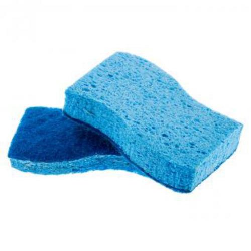 esponja set x 2 piezas perfect home-azul