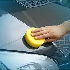 esponja suave microfibra p/ aplicacion ceras autos calidad