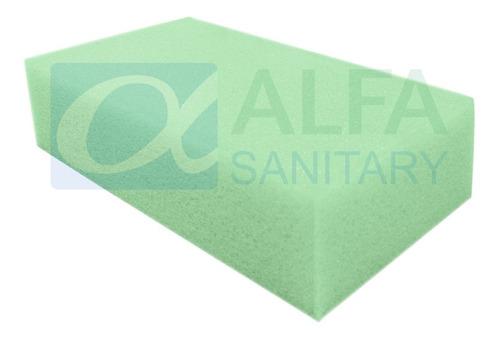 esponja suave multiusos para limpieza 10 cm x 17 cm alto