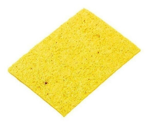 esponja vegetal para ferro de solda estacao kit 10 unidades