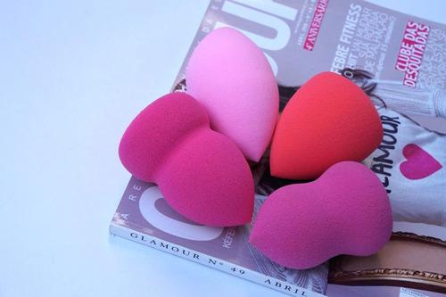 esponjas difuminadoras de maquillaje