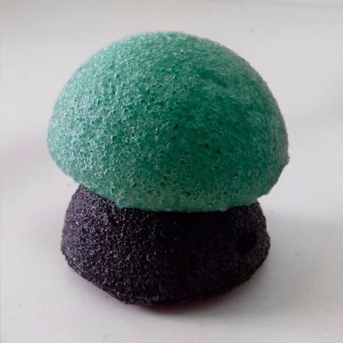 esponjas exfoliantes konjac, organicas, regulan ph antiacne