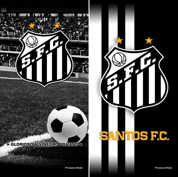 a9a0ae5eb2 Esporte Total! 02 Toalhas Banho praia Santos Futebol Oficial - R ...