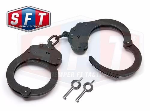 esposas alcyon negras con cadena importadas españa - s f t®