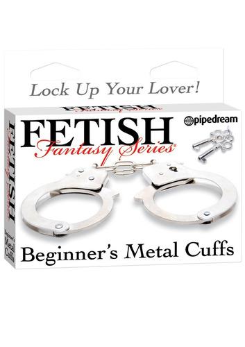 esposas metálicas fetish fantasy para principiantes 2 llaves