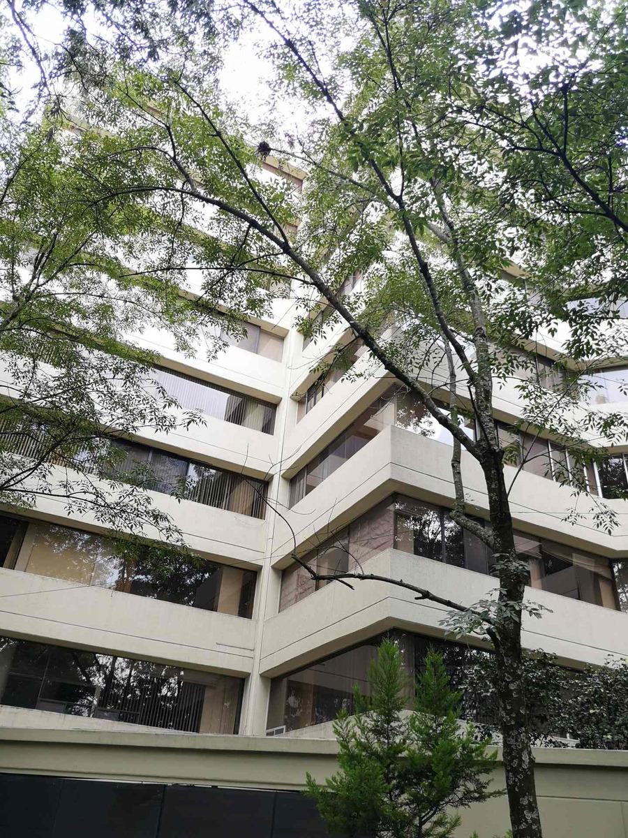 esppectacular departamento con vista al bosque de tlalpan