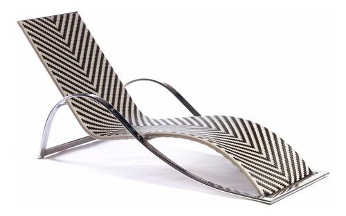 espreguiçadeira de junco piscina fibra sintética e alumínio