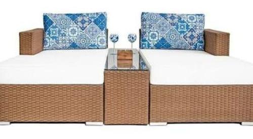 espreguiçadeiras cama super luxo lançamento oferta promoção