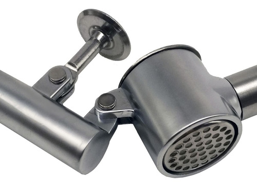 espremedor amassador de alho inox com tambor removível