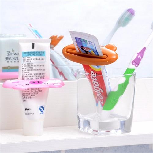 espremedor creme dental bichinhos super pratico - kit 24 und