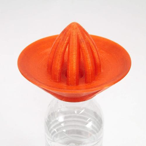 espremedor de frutas com encaixe de rosca para garrafa pet