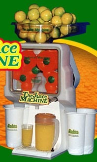 espremedor de suco de laranja juicemachine 120 litros hora