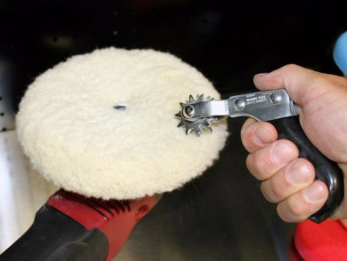 espuela limpieza pasta pulir pad bonete corderito lana usa