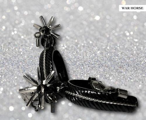 espuelas charras elegantes negras super finas para adulto disponibles para envio inmediato. envio gratis