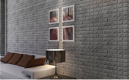 espuma 3d decoracion de pared revestimiento decorativa