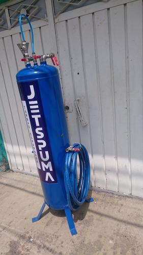 espuma activa, tanque espumador para car wash