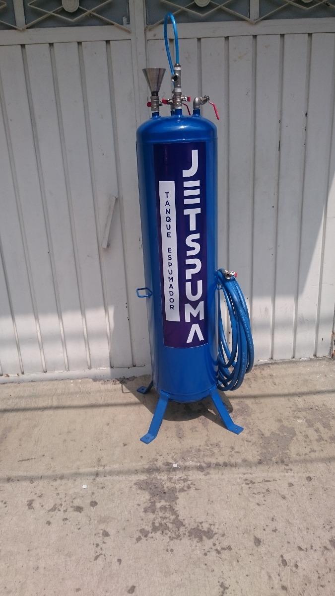 Espuma activa tanque espumador para car wash 5 for Tanque hidroneumatico 100 litros