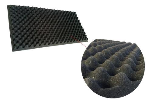 espuma acustica aislante de alta densidad 25kg/m3 gris