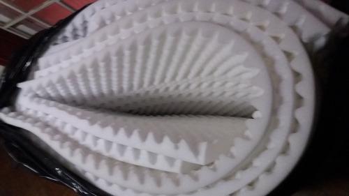 espuma acustica calidad profesional densidad 23k  white