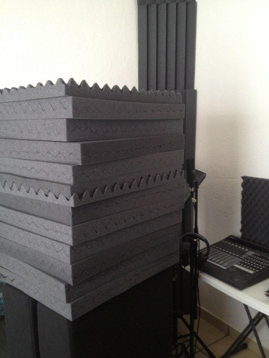 Espuma ac stica estudio grabaci n sala ensayo sala tv radio 5 en mercado libre - Material aislante para paredes ...