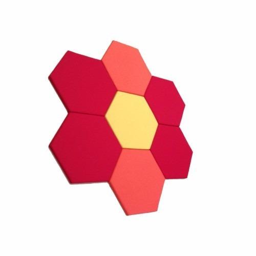 espuma acustica hexagonal  colmeia de abelha anti chamas