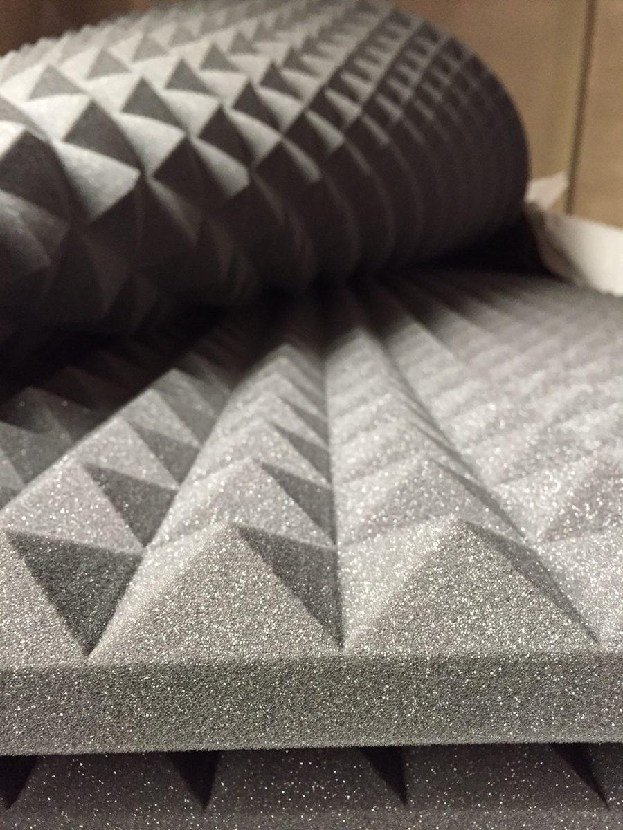 espuma acustica piramidal lamina 2m x panel quita eco 1 en mercado libre. Black Bedroom Furniture Sets. Home Design Ideas