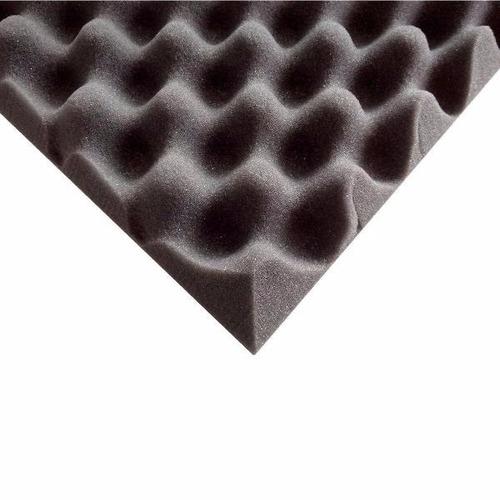 espuma acustica premium alta densidad 25kg/m3 gris