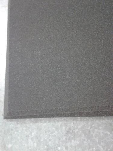 espuma anti chamas lisa , cor preta 30mm,estudio profissiona