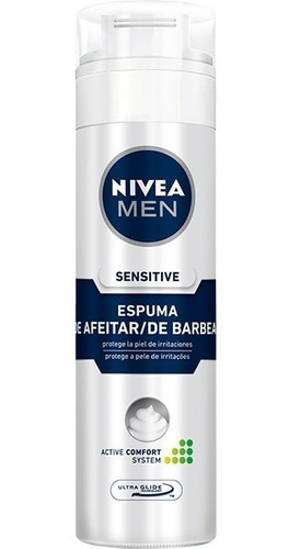 espuma de afeitar nivea for men sens