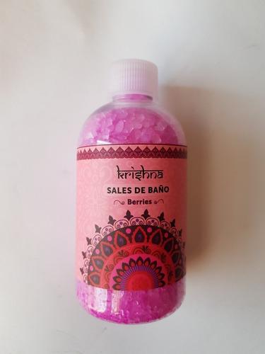 espuma de baño+sal de baño berries( pack)