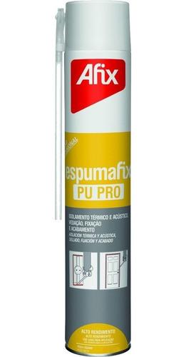 espuma de poliuretano expandido afix 750cc por 12 u.