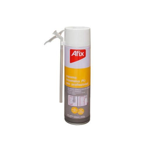 espuma de poliuretano expandido afix por 500 cc por unidad