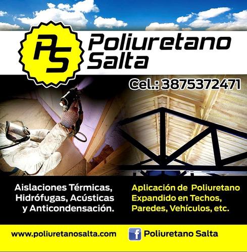 espuma de poliuretano expandido / aislacion termica