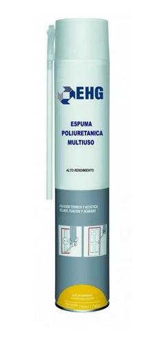 espuma de poliuretano expandido ehg por 750 cc por unidad