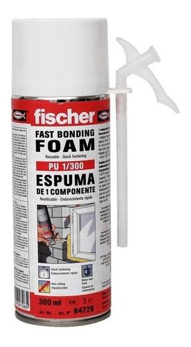 espuma de poliuretano expandido fischer aerosol 300ml