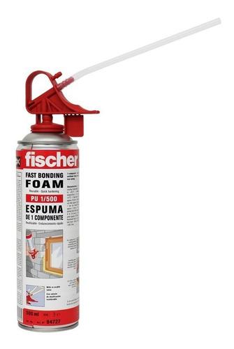 espuma de poliuretano expandido fischer aerosol 500ml